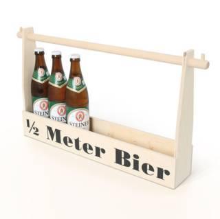 1/2 Meter Bier mit persönlicher Gravur