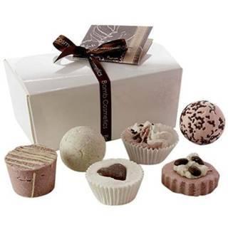 Eine kleine Schachtel voller Schokolade - Bade-Geschenkset