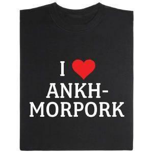 Fair gehandeltes Öko-T-Shirt: Ankh-Morpork