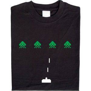 Fair gehandeltes Öko-T-Shirt: Space Invaders