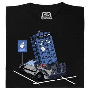 Fair gehandeltes Öko-T-Shirt: TARDIS Parking Only