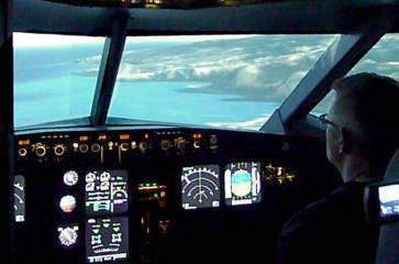Flightsimular A320