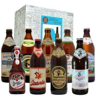 """Geschenkset """"Bayrisches Bier"""""""