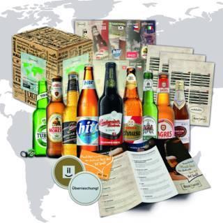 """Geschenkset """"Bier-Weltreise"""""""