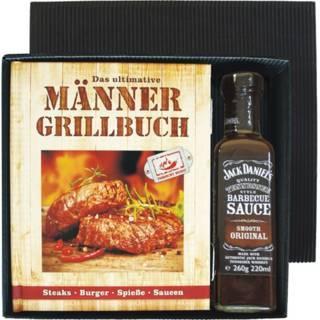 """Grill-Geschenkset mit """"Männer-Grillbuch"""""""
