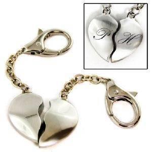 Herz Schlüsselanhänger für Paare