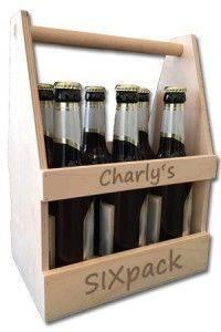 Personalisierter Bierträger - tolles Geburtstagsgeschenk
